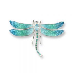 nicole barr dragonfly brooch