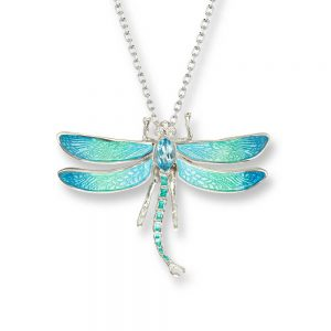 nicole barr dragonfly necklace
