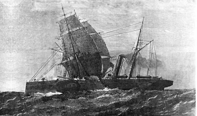 shipwreck for cornish tin image