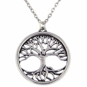 st justin tree of life necklace