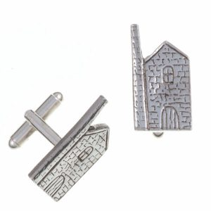 st justin tin mine cufflinks