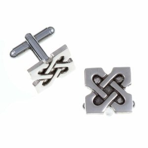 st justin celtic cufflinks