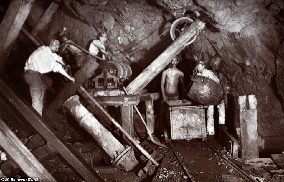 cornish tin mine image