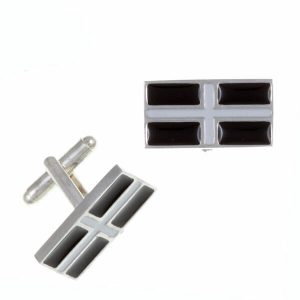 st justin cornish flag cufflinks