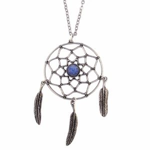 st justin dreamcatcher necklace