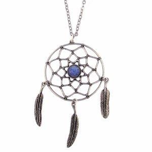 st justin dreamcatcher necklace
