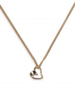 Image of ladies cornish gold necklace