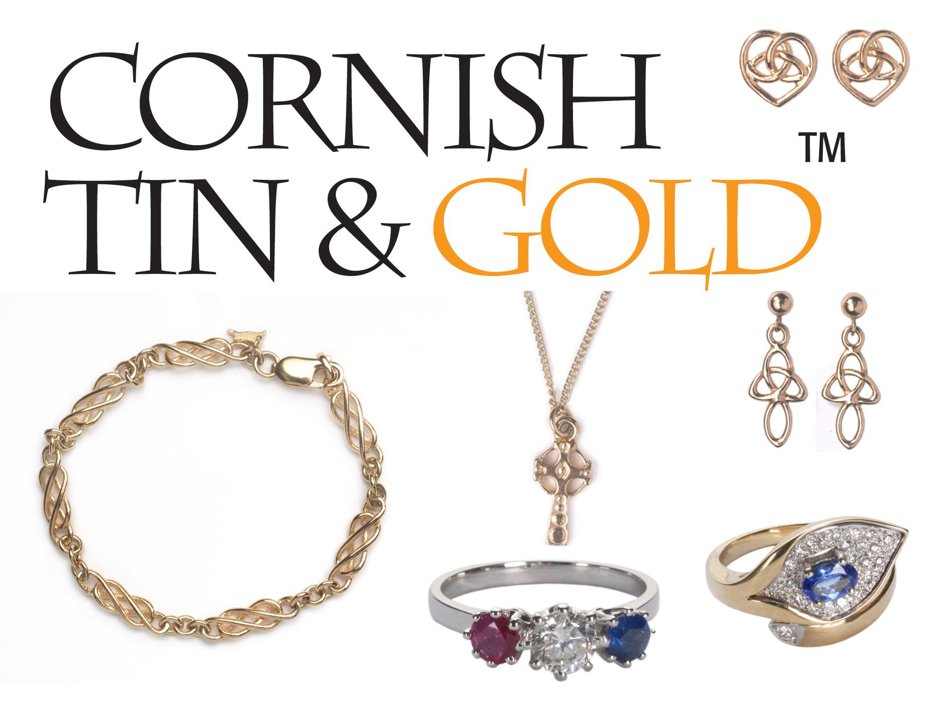 Cornish tin & gold logo