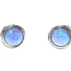 yaron morhaim opal stud earrings