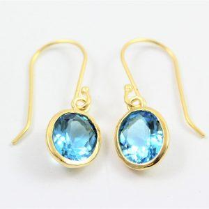 yaron morhaim gold drop earrings