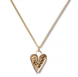 image of cornish tin & gold necklace