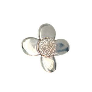 sterling silver flower daisy ring