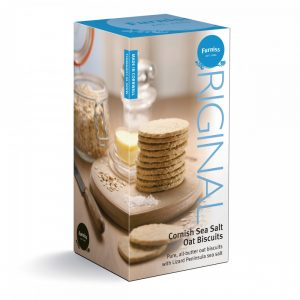 Image of Cornish seasalt oat biscuits