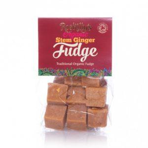 roskillys cornish stem ginger fudge