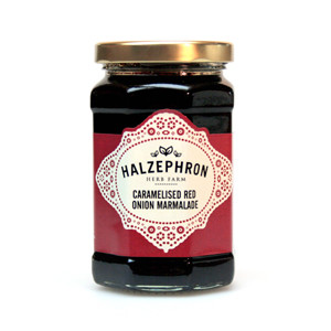 Image of caramalised red onion marmalade