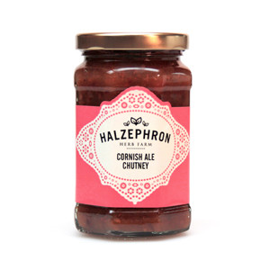 image for halzephron cornish ale chutney