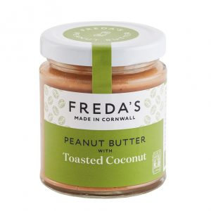 image of Cornish toasted coconut peanut butter