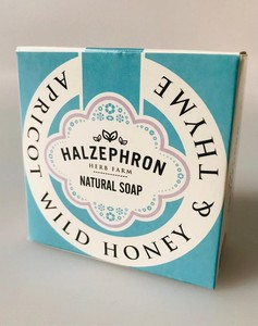 image of natural cornish honey soap