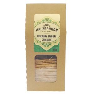 Image of cornish rosemary savoury crackers from halzephron