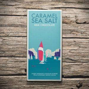 Image of cornish salted caramel chocolate