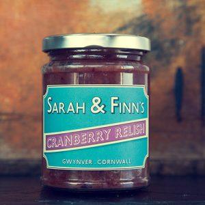 Image of cornish fruity cranberry relish