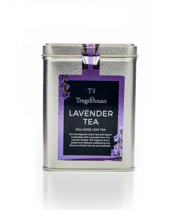 image of cornish lavender black tea