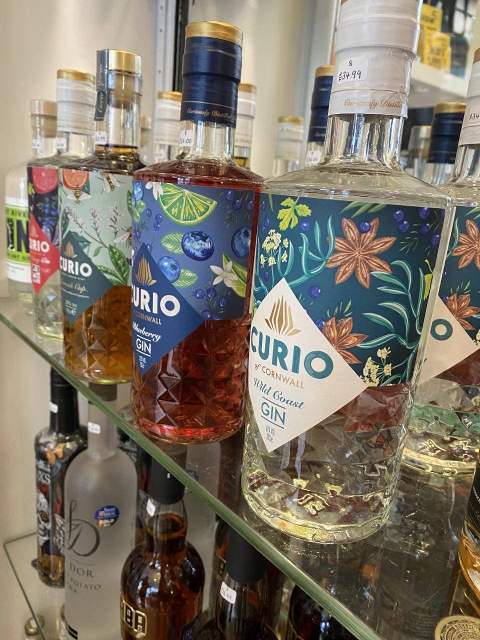 everything cornish curio gin