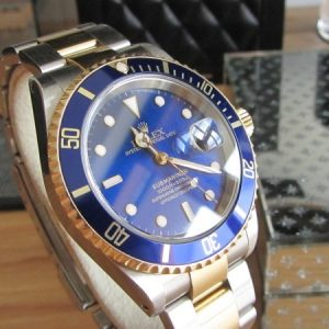 Rolex Submariner With Blue Dial