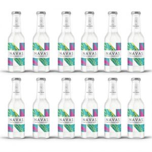 navas drinks light tonic water case of 12