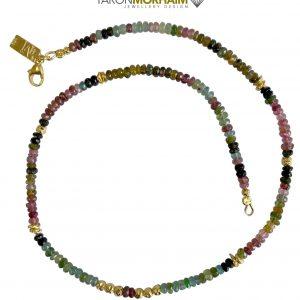 Multi-Colour Tourmaline Necklace