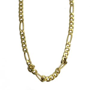 9ct Yellow Gold Figaro Chain