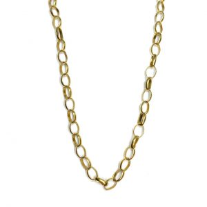 9ct Yellow Gold Belcher Chain
