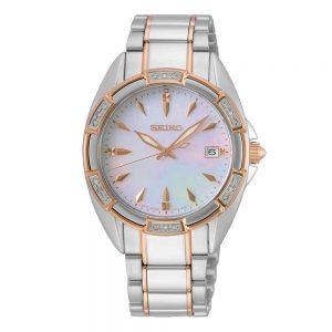 Ladies Silver & Diamond Watch