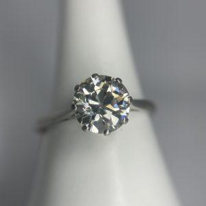 1.85ct Diamond Solitaire Ring