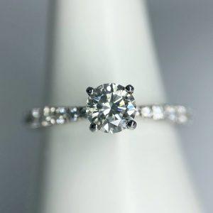 Diamond Solitaire Platinum Ring